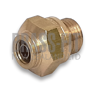 Picture of 1868 MALE CONNECTOR IMPERIAL - METRIC THREAD