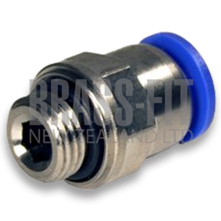 Picture of P1568 MALE CONNECTOR METRIC - METRIC THREAD