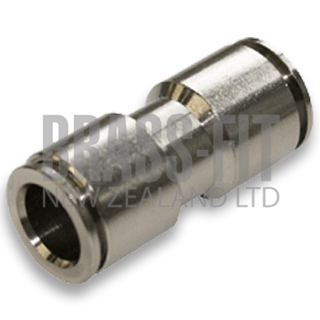 Picture of N1562 UNION STRAIGHT METRIC NICKEL PLATED
