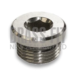 Picture of NP1252 PLUG NICKEL PLATED