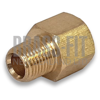 Picture of 3200 MALE/FEMALE GREASE ADAPTOR (BRASS)