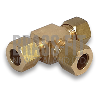 Picture of M64 COMPRESSION UNION TEE - METRIC